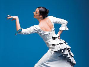 Flamenco dancer Savannah Fuentes