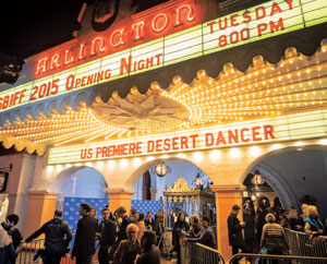 """Desert Dancer"" opened the 30th annual Santa Barbara International Film Festival on Tuesday at the Arlington Theatre NIK BLASKOVICH/ NEWS-PRESS"