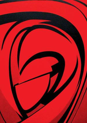 'Laguna Series No.1 Red/Black,'James Paul Lambert