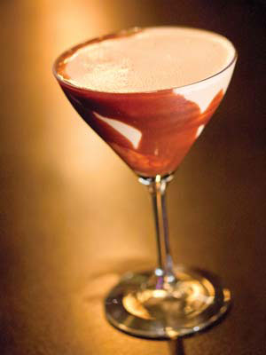 DANNY BOY'S CHOCOLATE MARTINI MMM NIK BLASKOVICH/NEWS-PRESS