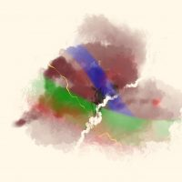 abstract multi-colored