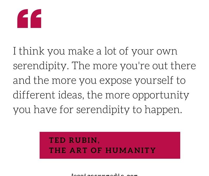 Ted Rubin on Looking People in the Eye ~via @itsjessicann
