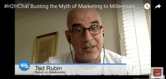 Busting the Myth of Marketing to Millennials ~my #H2HChat with @BryanKramer