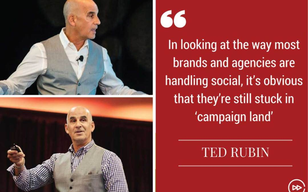 Embracing Social: Interview with Social Strategist Ted Rubin ~via @savage_int
