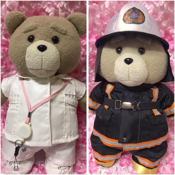 ウェルカムドール消防士看護師