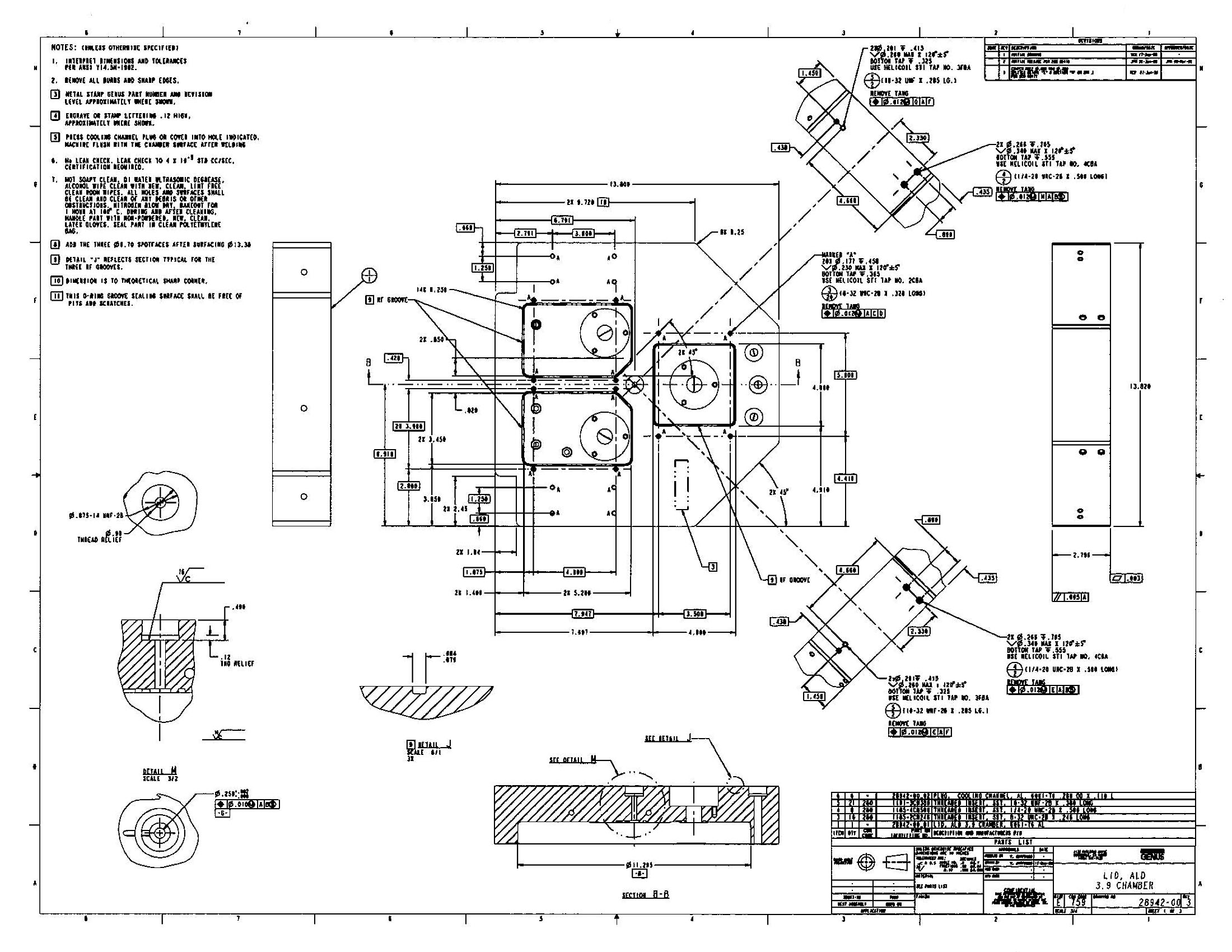 Fabrication Drawings Ted S Engineering Drawing Blogs