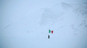 El Norte, 2011. Still Frame. Single Channel Video. Duration: 3 mins. 40 secs.