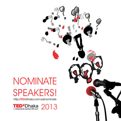 nominate speaker for TEDxDhaka