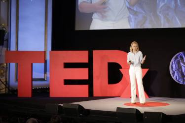 Dialogue as partnership: Lena Hercberga at TEDxRiga