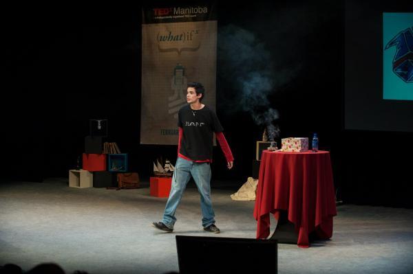 Michael Redhead Champagne at TEDxWinnipeg