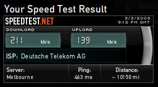 speed test internet Aspethera Hotel