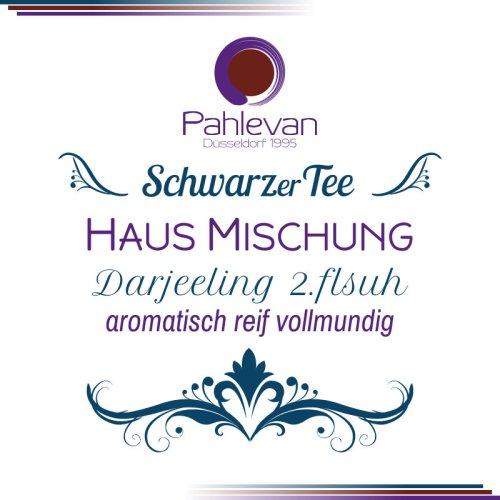 Schwarzer Tee Darjeeling Hausmischung second flush | aromatisch reif vollmundig von Tee Pahlevan