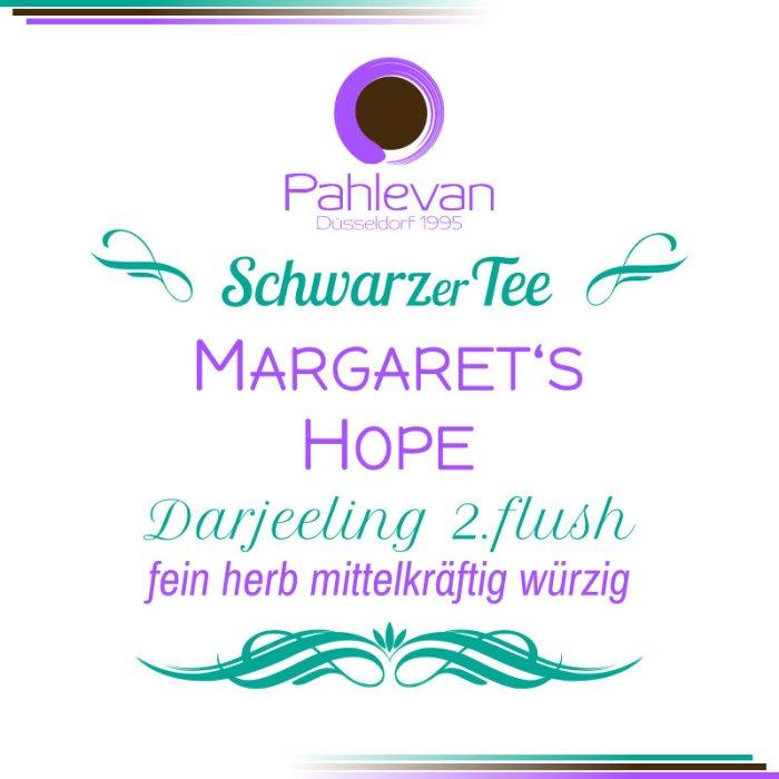 Schwarzer Tee Darjeeling Margarets Hope second flush   fein herb mittelkräftig würzig von Tee Pahlevan