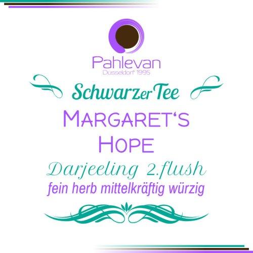 Schwarzer Tee Darjeeling Margarets Hope second flush | fein herb mittelkräftig würzig von Tee Pahlevan