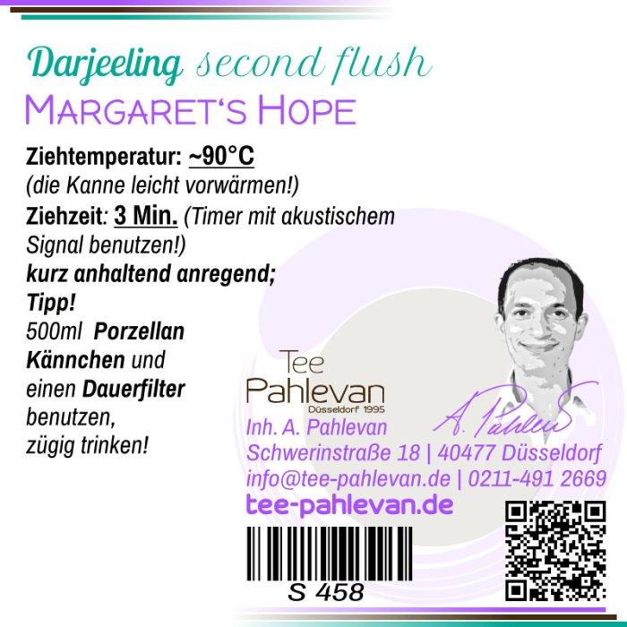 Schwarzer Tee Darjeeling Margaret's Hope second flush   fein herb mittelkräftig würzig von Tee Pahlevan