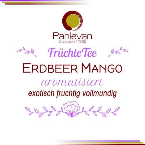 Früchtetee Erdbeer Mango | exotisch, fruchtig, vollmundig von Tee Pahlevan