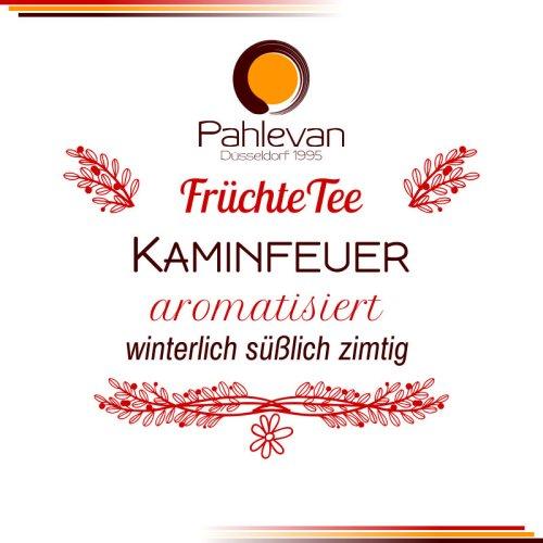 Früchtetee Kaminfeuer | winterlich süßlich mit Ziomt Note von Tee Pahlevan