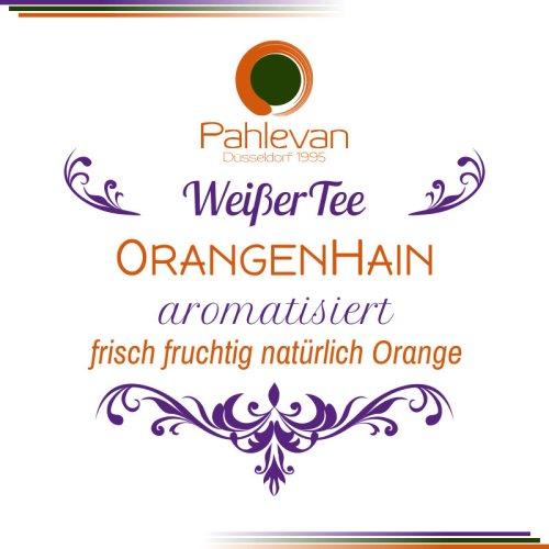 Weißer Tee Orangenhain   frisch fruchtig natürlich Orange