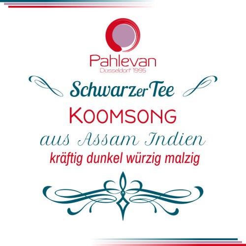 Schwarzer Tee Assam Koomsong | kräftig dunkel würzig malzig von Tee Pahlevan