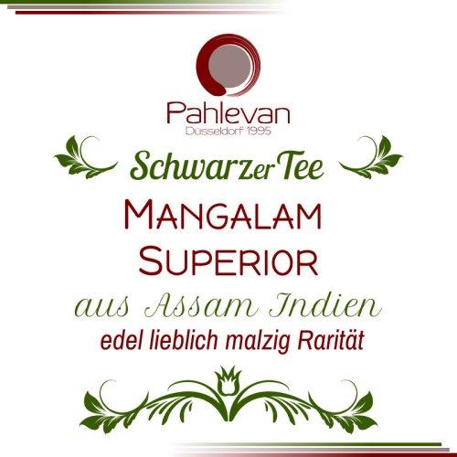 Schwarzer Tee Assam Mangalam Superior | edel lieblich malzig Rarität von Tee Pahlevan