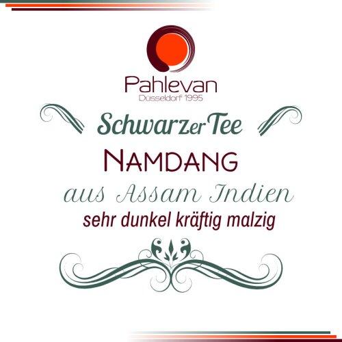 Schwarzer Tee Assam Namdang | sehr dunkel kräftig malzig von Tee Pahlevan