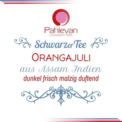 Schwarzer Tee Assam Orangajuli | dunkel frisch malzig duftend von Tee Pahlevan