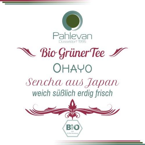 Bio Grüner Tee Sencha Ohayo | aus Japan weich süßlich erdig frisch von Tee Pahlevan