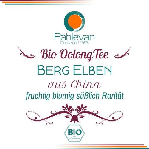 Bio Oolong Tee Bergelben | fruchtig blumig süßlich Rarität von Tee Pahlevan