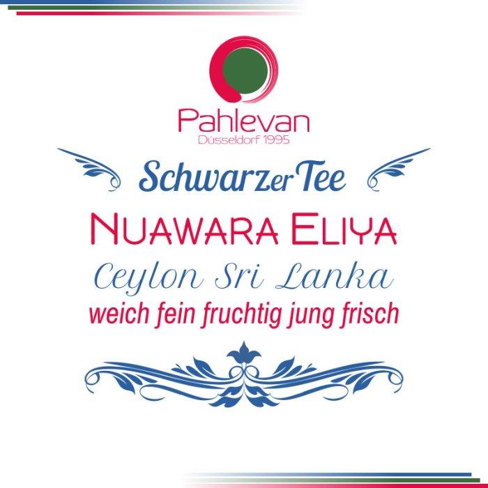 Schwarzer Tee Ceylon Nuwara Eliya | weich fein fruchtig jung frisch von Tee Pahlevan