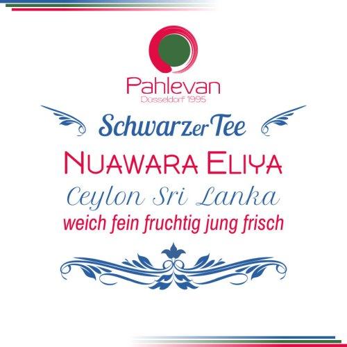 Schwarzer Tee Ceylon Nuwara Eliya   weich fein fruchtig jung frisch von Tee Pahlevan