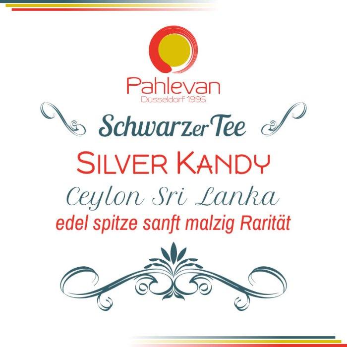 Schwarzer Tee Ceylon Silver Kandy | edel spitze sanft malzig Rarität von Tee Pahlevan