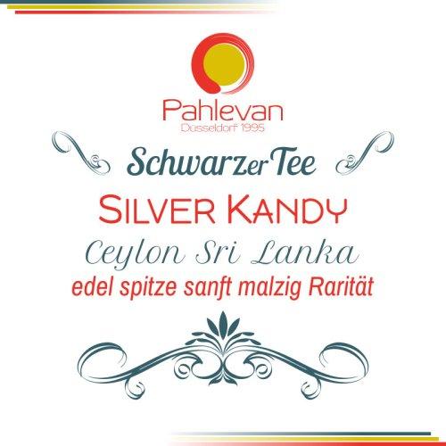 Schwarzer Tee Ceylon Silver Kandy   edel spitze sanft malzig Rarität von Tee Pahlevan