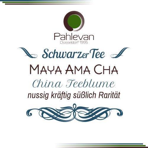 Schwarzer Tee China Maya Ama Cha  nussig kräftig süßlich Rarität von Tee Pahlevan