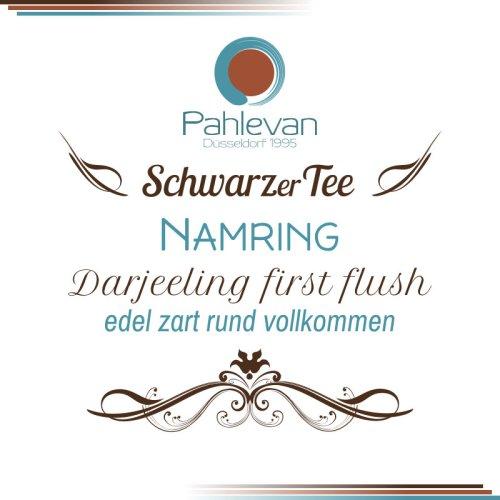 Schwarzer Tee Darjeeling Namring first flush | edel zart rund vollkomment von Tee Pahlevan