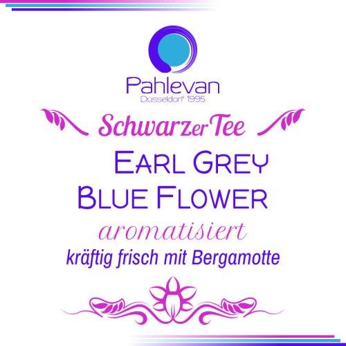 Earl Grey Blue Flower | kräftig frisch mit natürlichem Bergamotten Öl von Tee Pahlevan