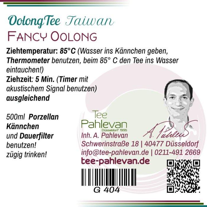 Fancy Oolong Tee   85°C, Ziehzeit 4-5 Minuten ausgleichend von Tee Pahlevan