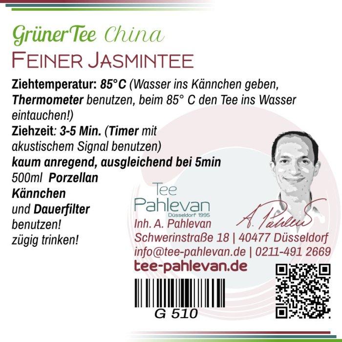 Feiner Jasmintee | 75-85°C, Ziehzeit 2-3 Minuten leicht anregend von Tee Pahlevan