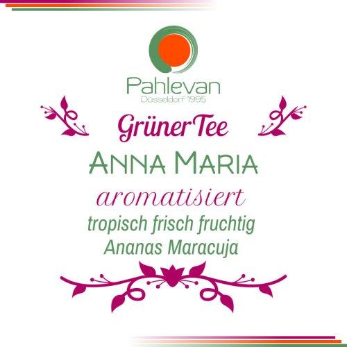 Grüner Tee Anna Maria | tropisch frisch fruchtig Ananas Maracuja von Tee Pahlevan