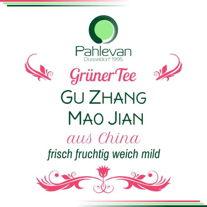 Grüner Tee Gu Zhang Mao Jian | China frisch fruchtig weich mild von Tee Pahlevan