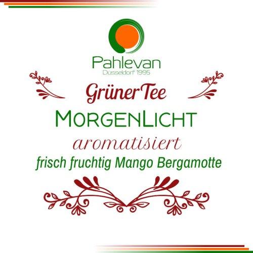Grüner Tee Morgenlicht | frisch fruchtig Mnago Bergamotte von Tee Pahlevan