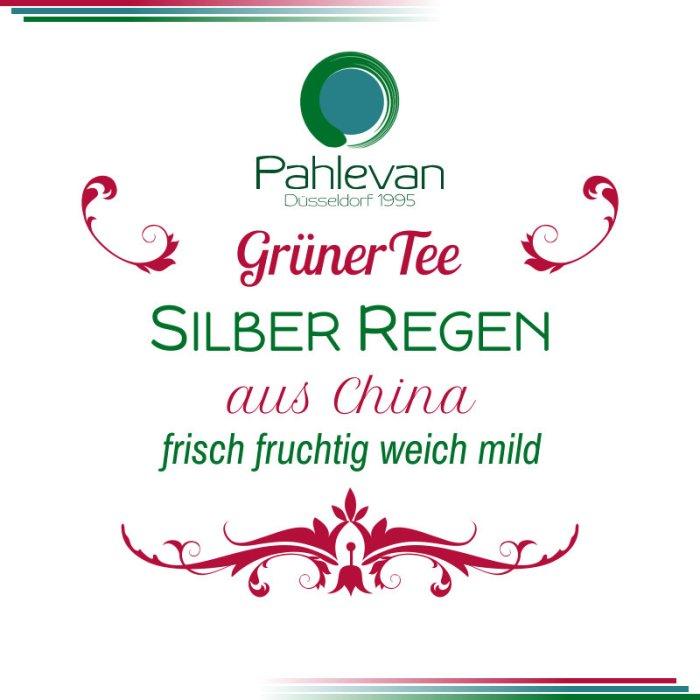 Grüner Tee Silber Regen | China frisch fruchtig weich mild von Tee Pahlevan