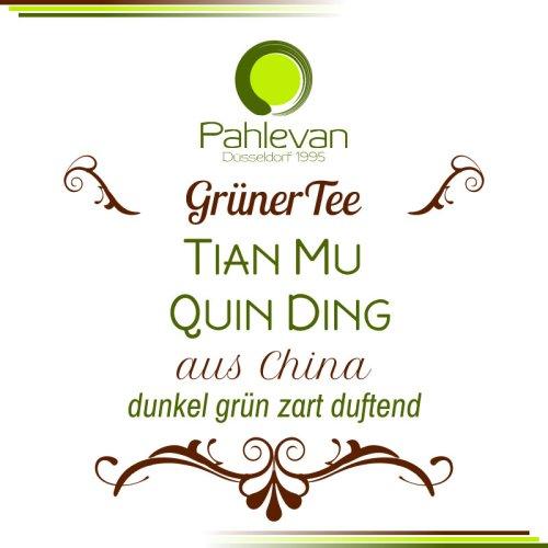 Grüner Tee Tian Mu Quing Ding | China dunkel grün zart duftend von Tee Pahlevan