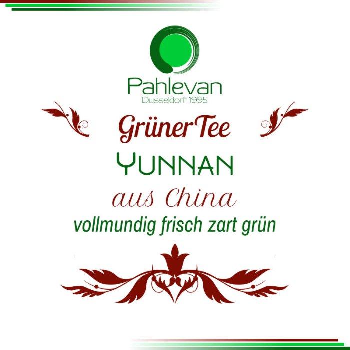 Grüner Tee Yunnan   China vollmundig frisch zart grün von Tee Pahlevan