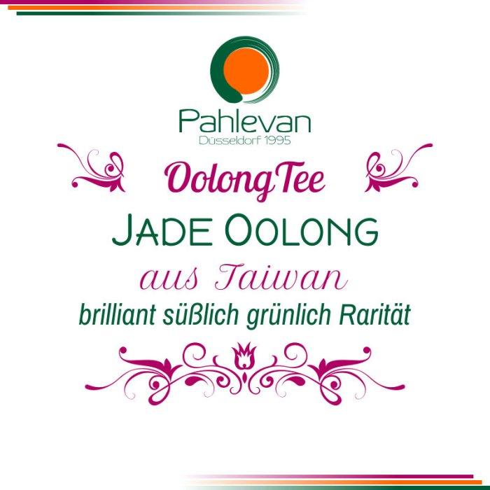 Jade Oolong Tee | aus Taiwan brilliant süßlich grünlich Rarität von Tee Pahlevan
