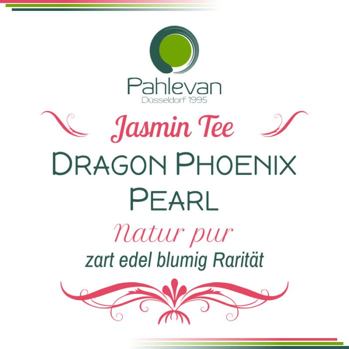 Jasmintee Dragon Phoenix Pearl | zart edelblumig Rarität von Tee Pahlevan