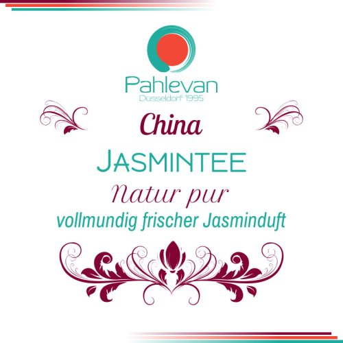 Jasmintee | vollmundig frischer Jasminduft von Tee Pahlevan