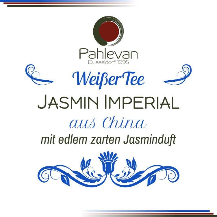 Weißer Jasmintee Jasmin Imperial | mit edlem zarten Jasminduft von Tee Pahlevan