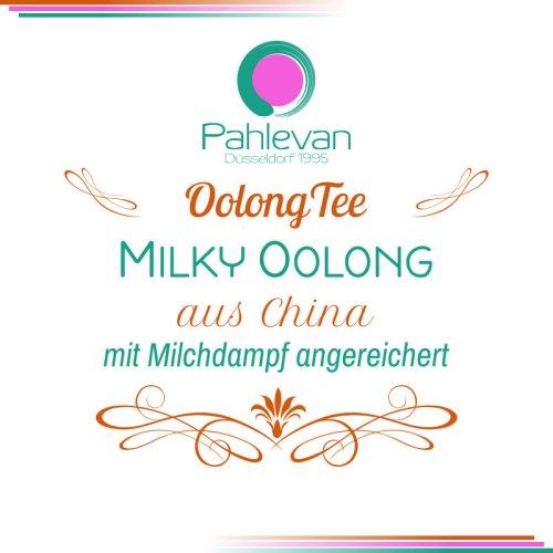 Milky Oolong Tee | aus China mit Milch Aroma Rarität von Tee Pahlevan