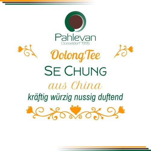 Oolong Tee Se Chung | kräftig würzig nussig duftend von Tee Pahlevan