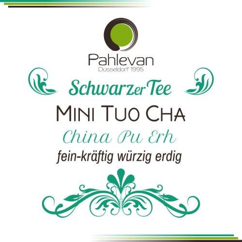Tee China Pu Erh Mini Tuo Cha Yunnan   fein kräftig würzig erdig rund von Tee Pahlevan